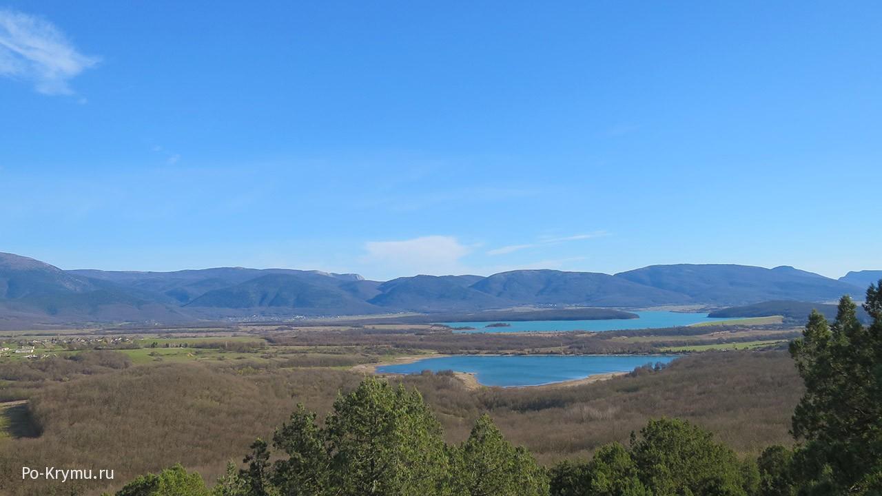 Озера Байдарской долины, Крым.