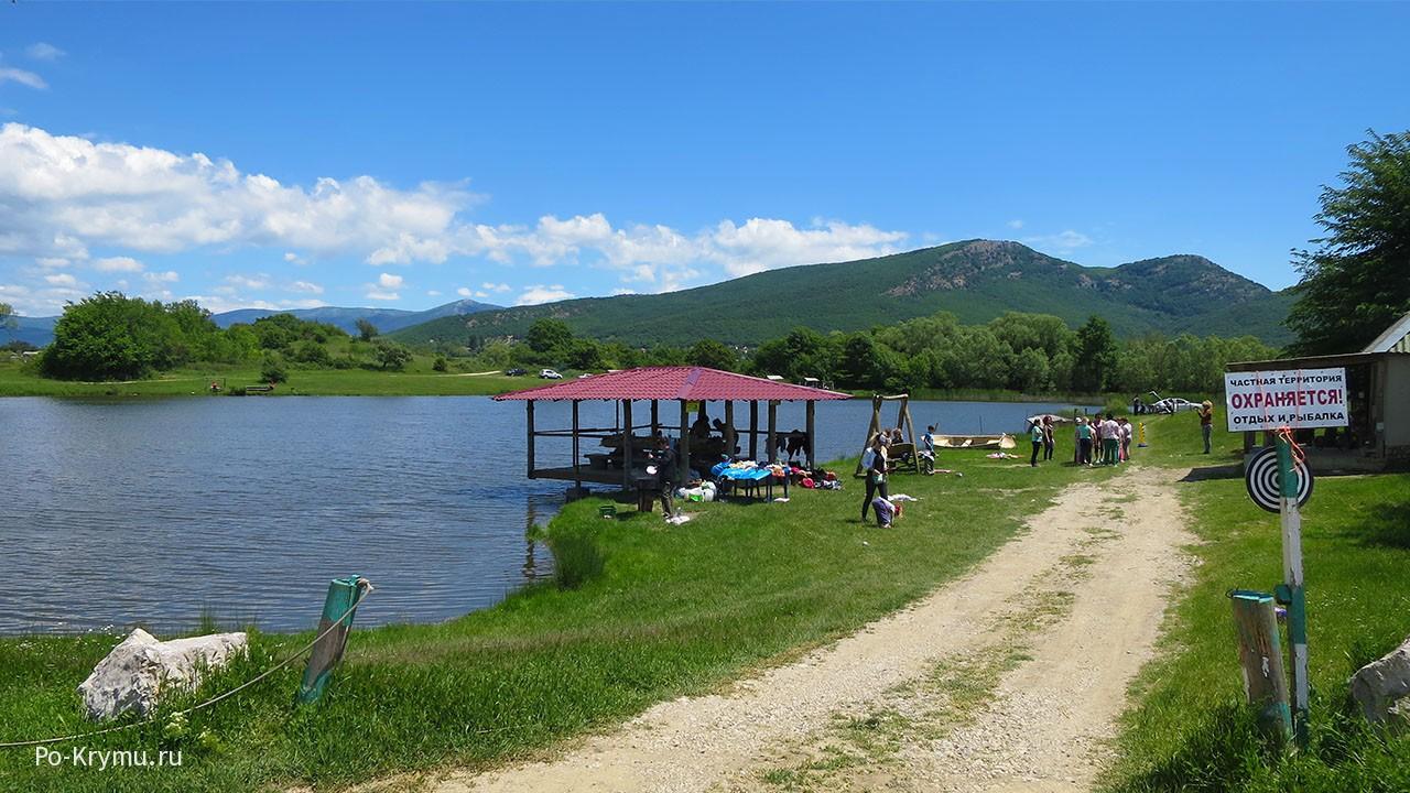 Отдых на Старой плотине в Байдарской долине