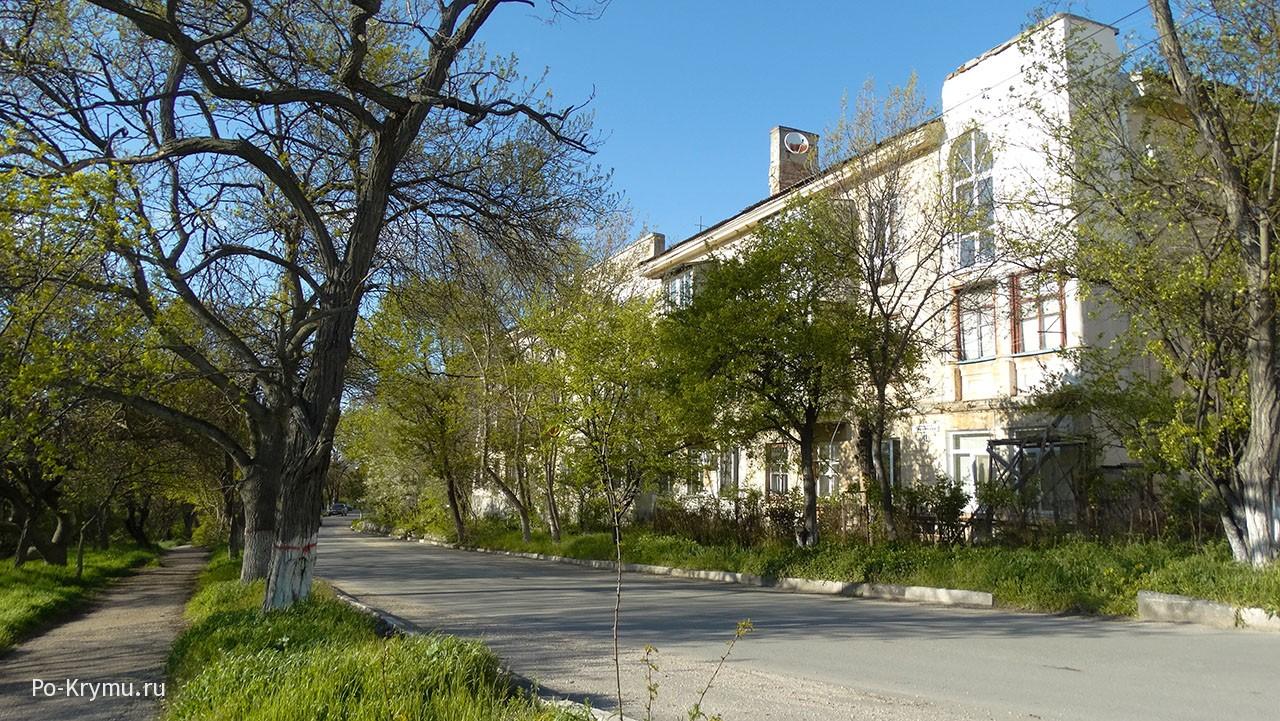 Улица Адмирала Макарова.