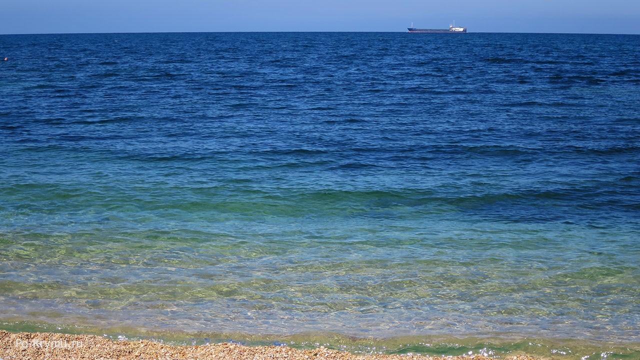 Красивое фото черноморского берега