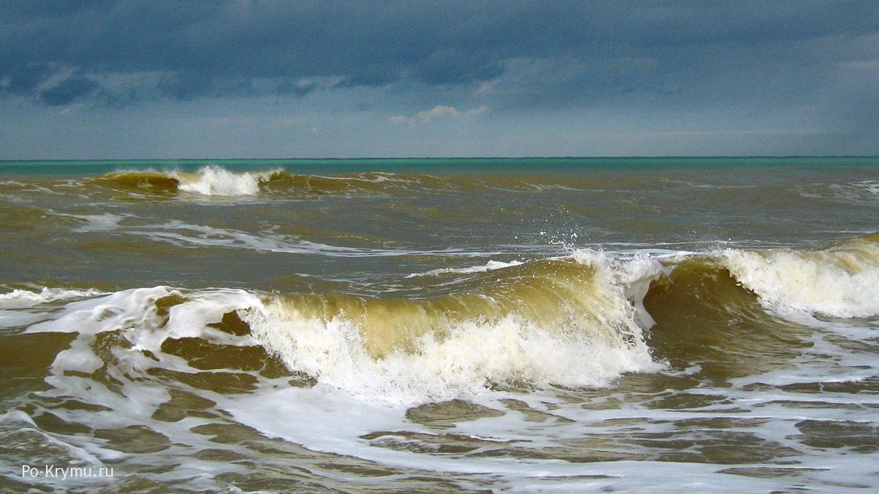Хаки или зелено-желтый морской прибой