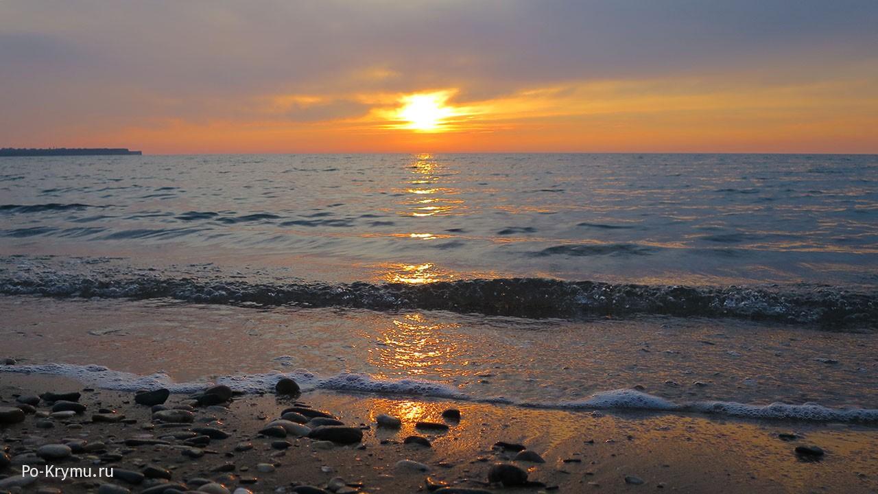Цвет морского заката
