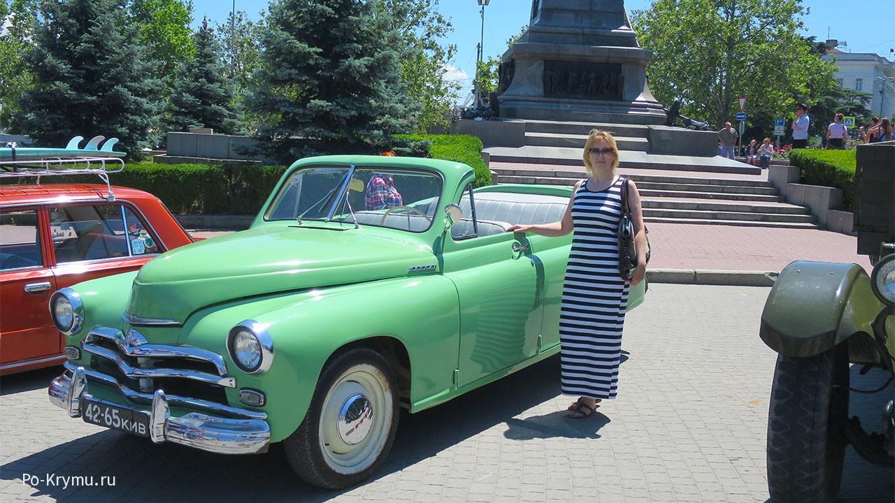 Выставка авто в Крыму.