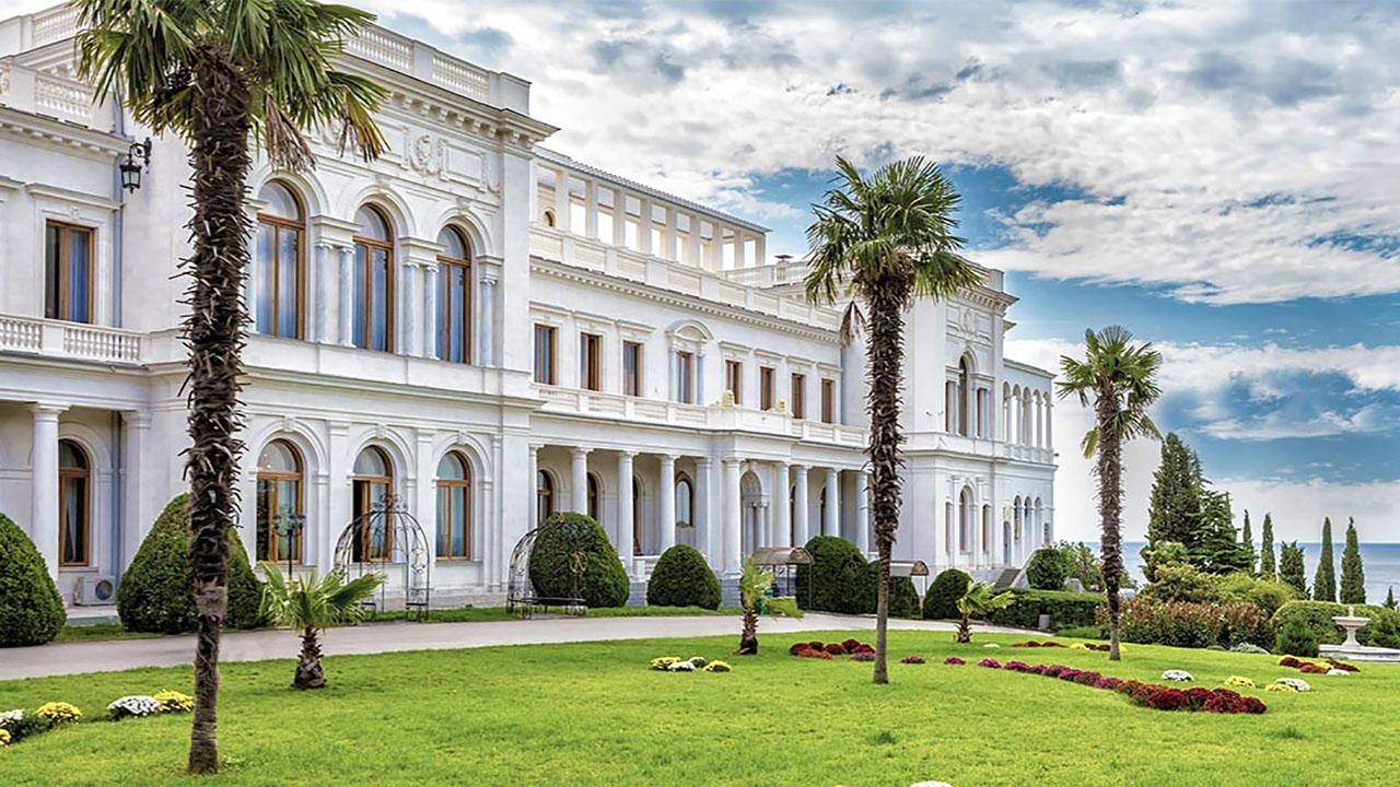 Фасад Ливадийского дворца