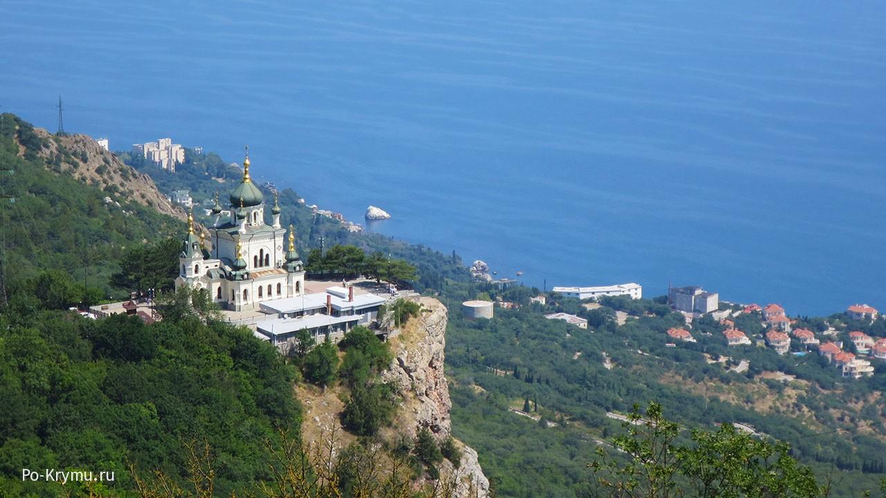 Форос, Крым достопримечательности.