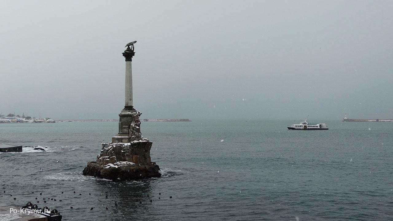 Серо-зеленые бухты Севастополя