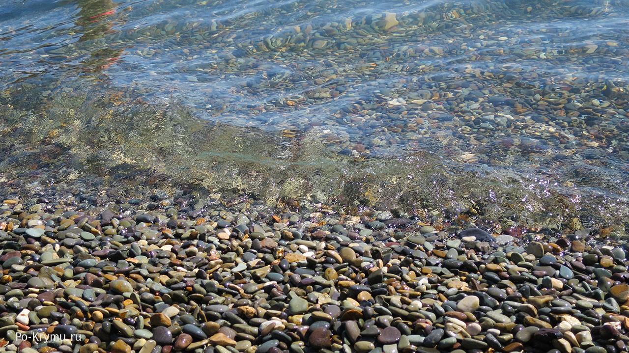 Фиолент, Яшмовый пляж фото.