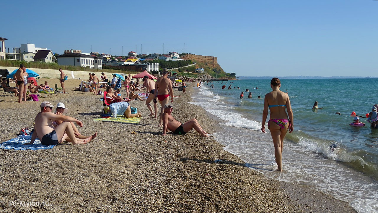 Вязовая роща - один из лучших песчаных пляжей под Севастополем