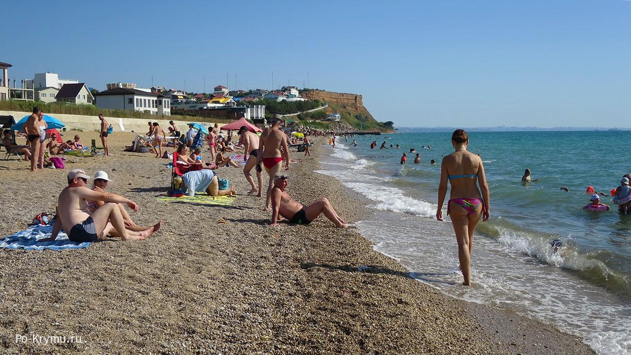 Пляж Вязовая роща.