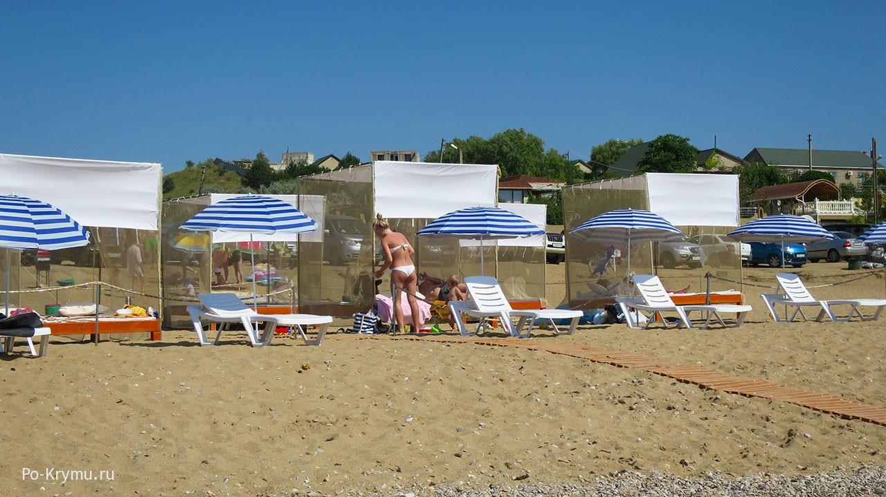Лучший песчаный пляж Крыма.