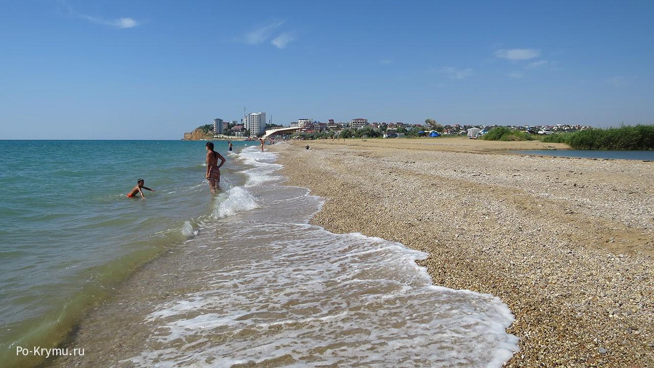 пляж Звездный берег, Орловка.