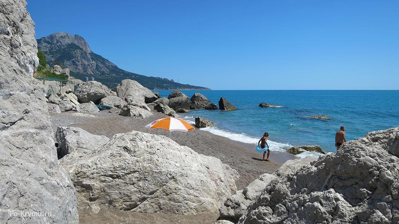 Пляжный отдых в Крыму.