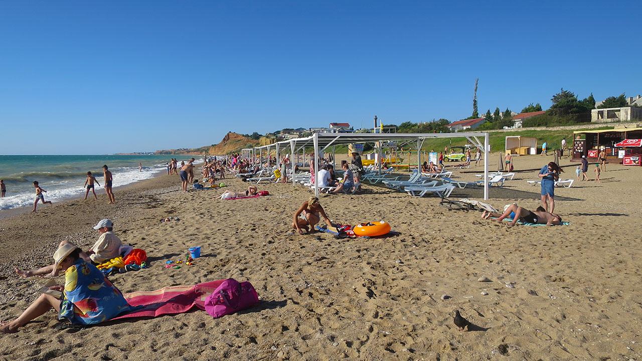 фото пляж Любимовка