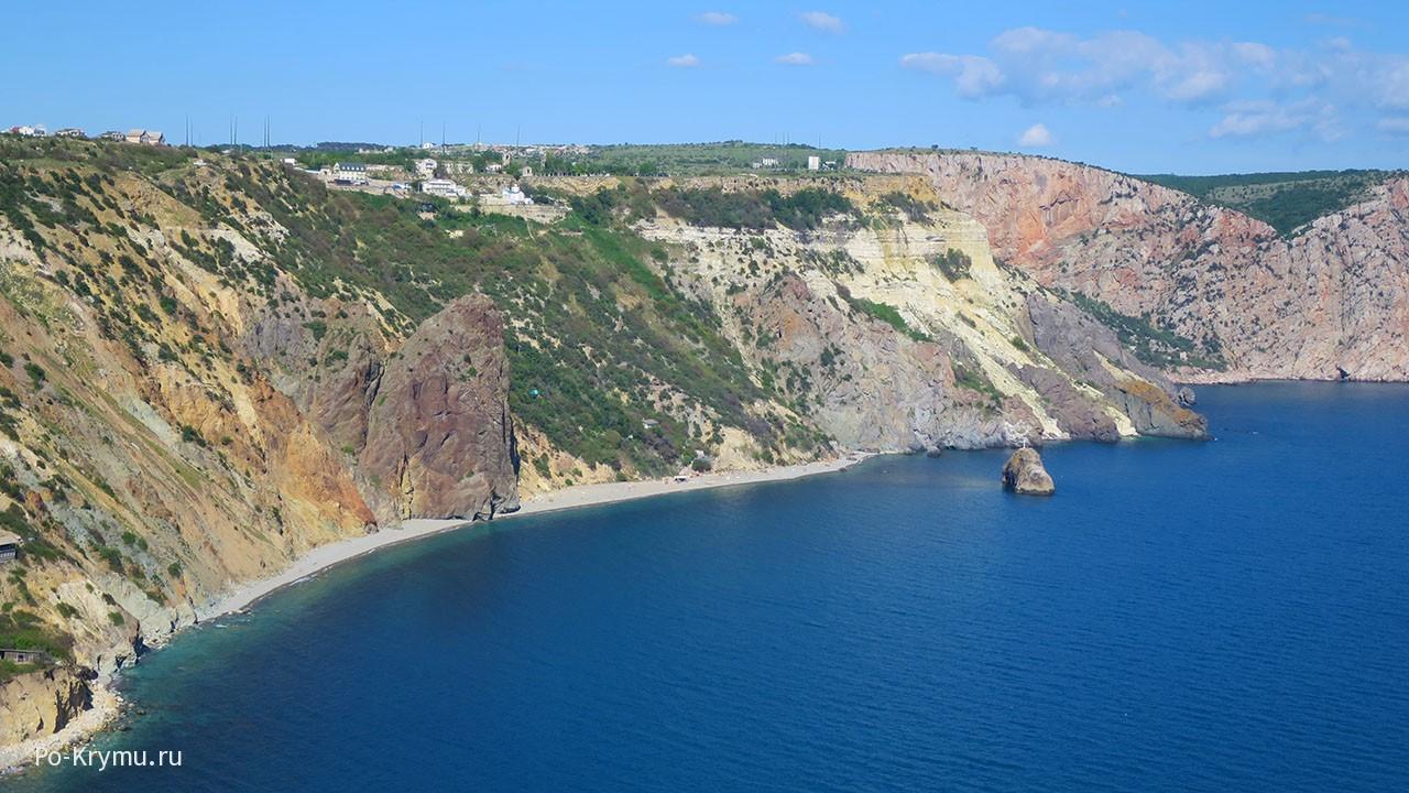 Яшмовый пляж, Крым.
