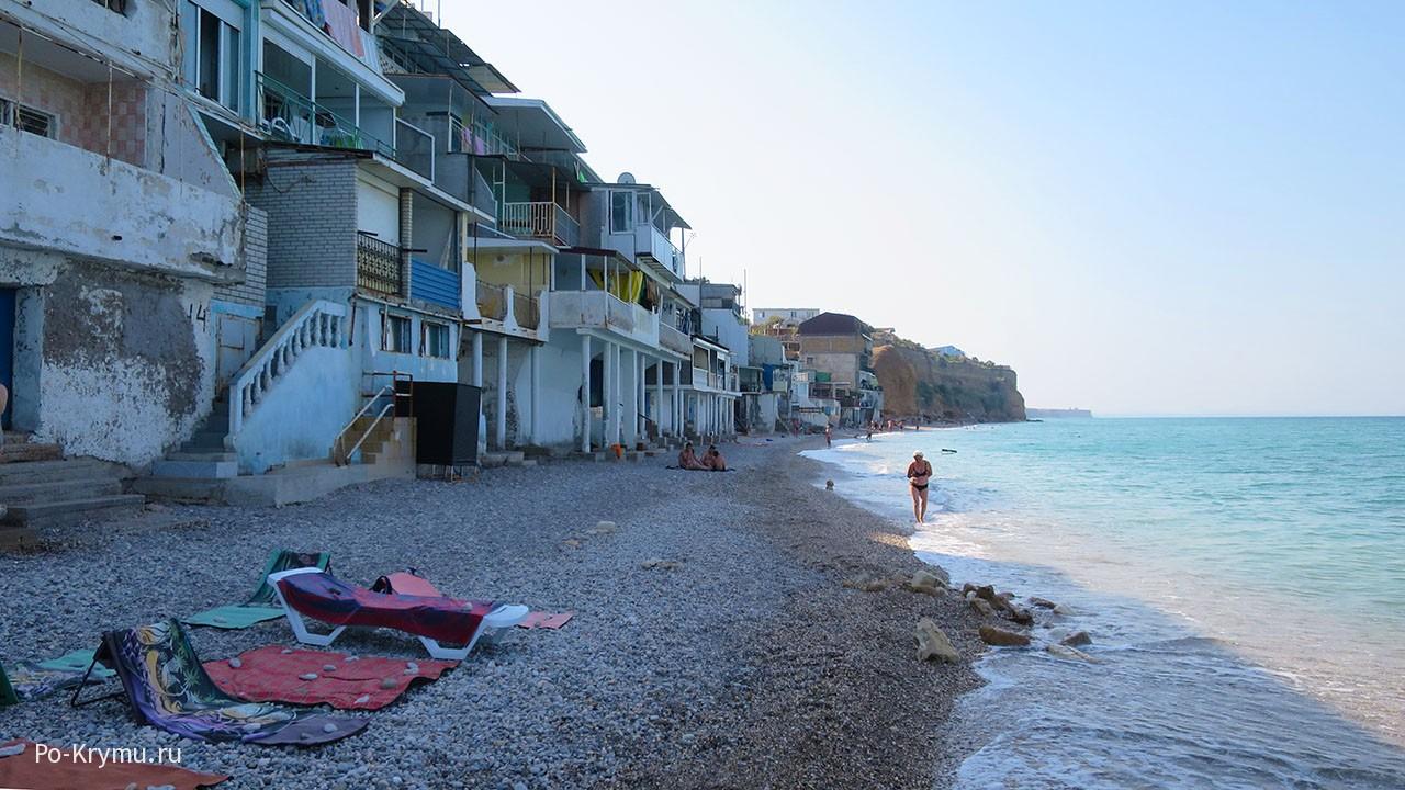 Пляжи Кача, Крым, фото.
