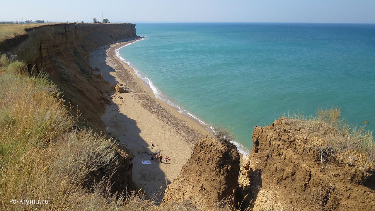 Песчаные пляжи Севастополя.