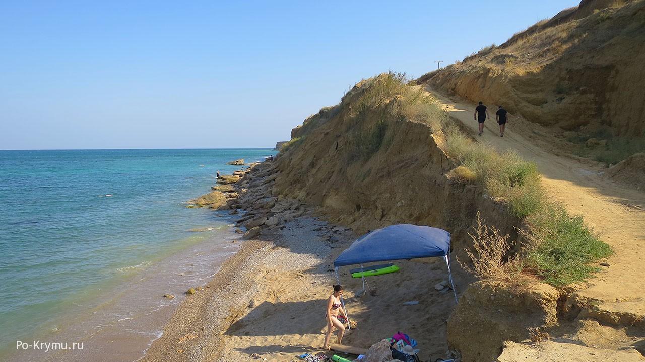 Дикие пляжи Кача.