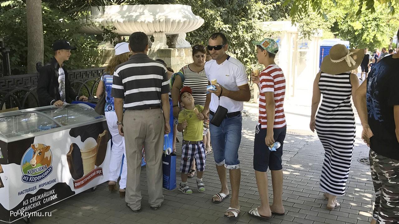 Жаркое крымское лето