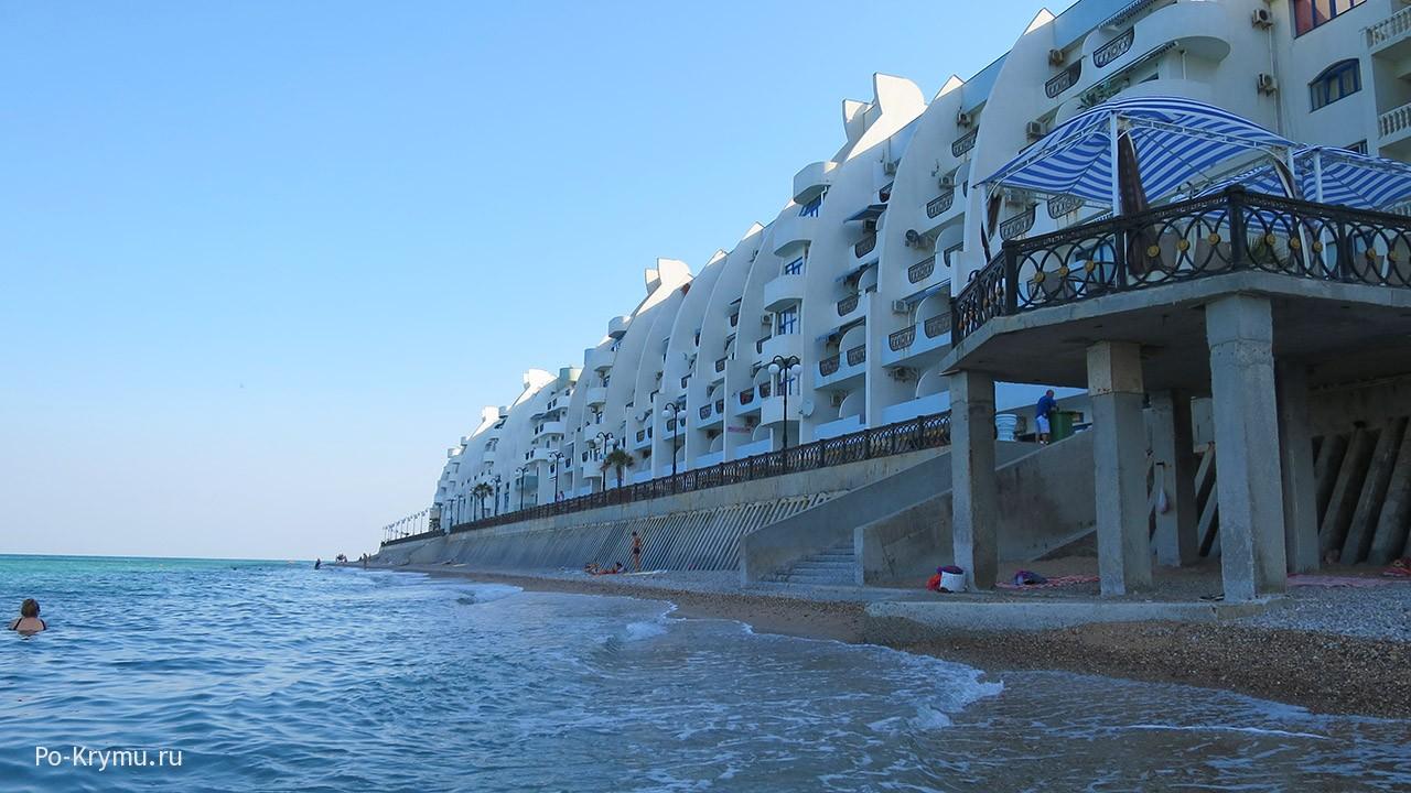 Пляж Кача, Севастополь.