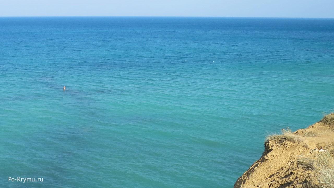 Море под Севастополем.