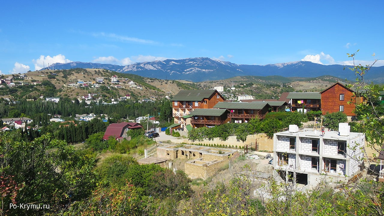 Виды Крым горы