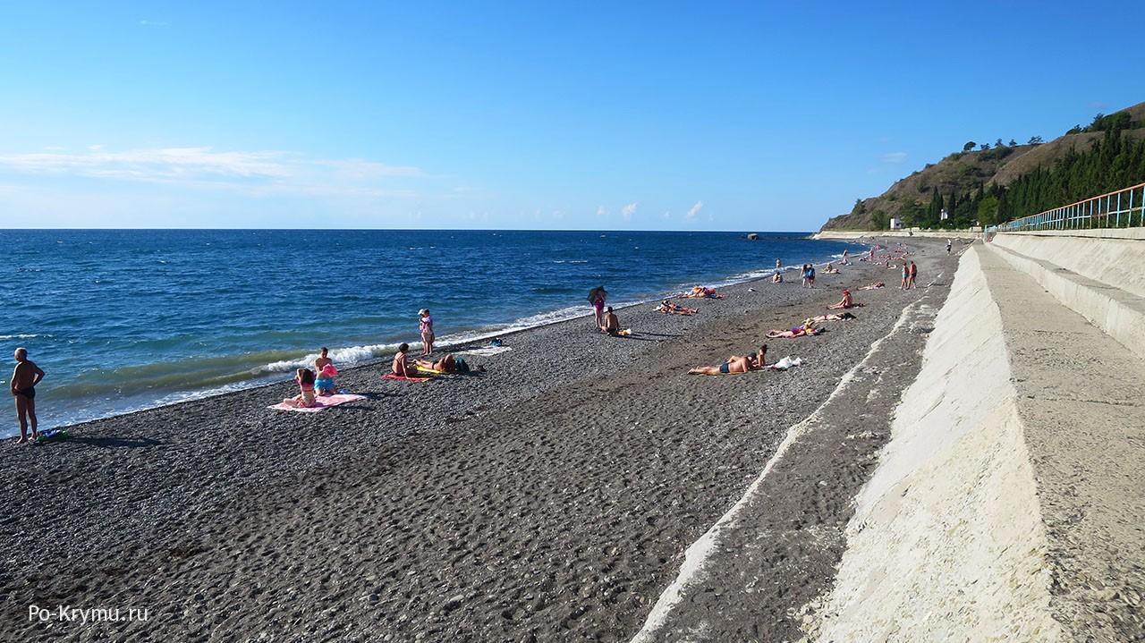Пляж в Солнечногорском