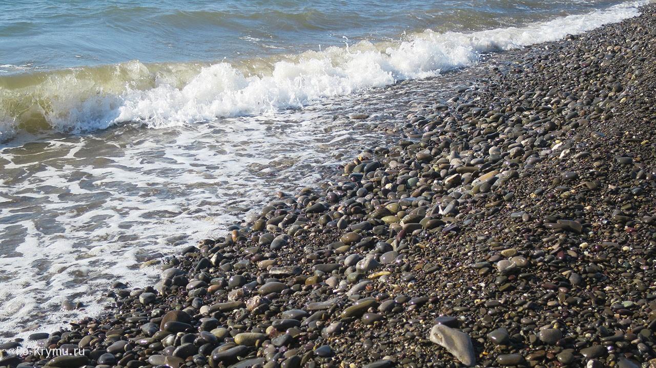 Галечные пляжи ЮБК