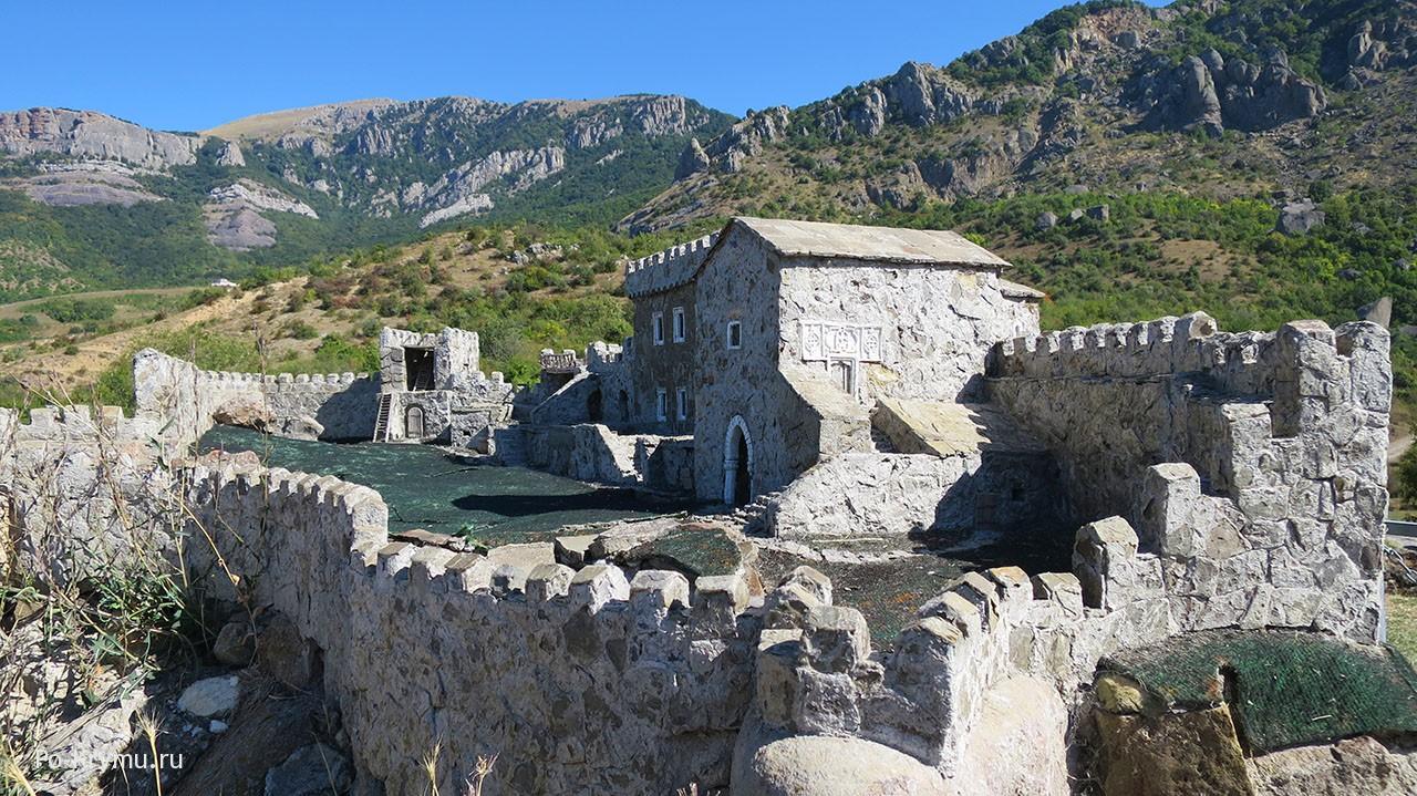 Крепость Фуна, Демерджи, Алушта.
