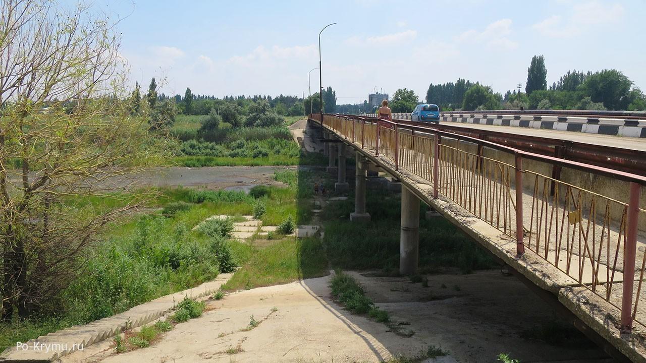 Северо-Крымский канал сейчас.