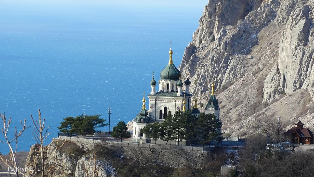Форосская церковь Воскресения Христова.