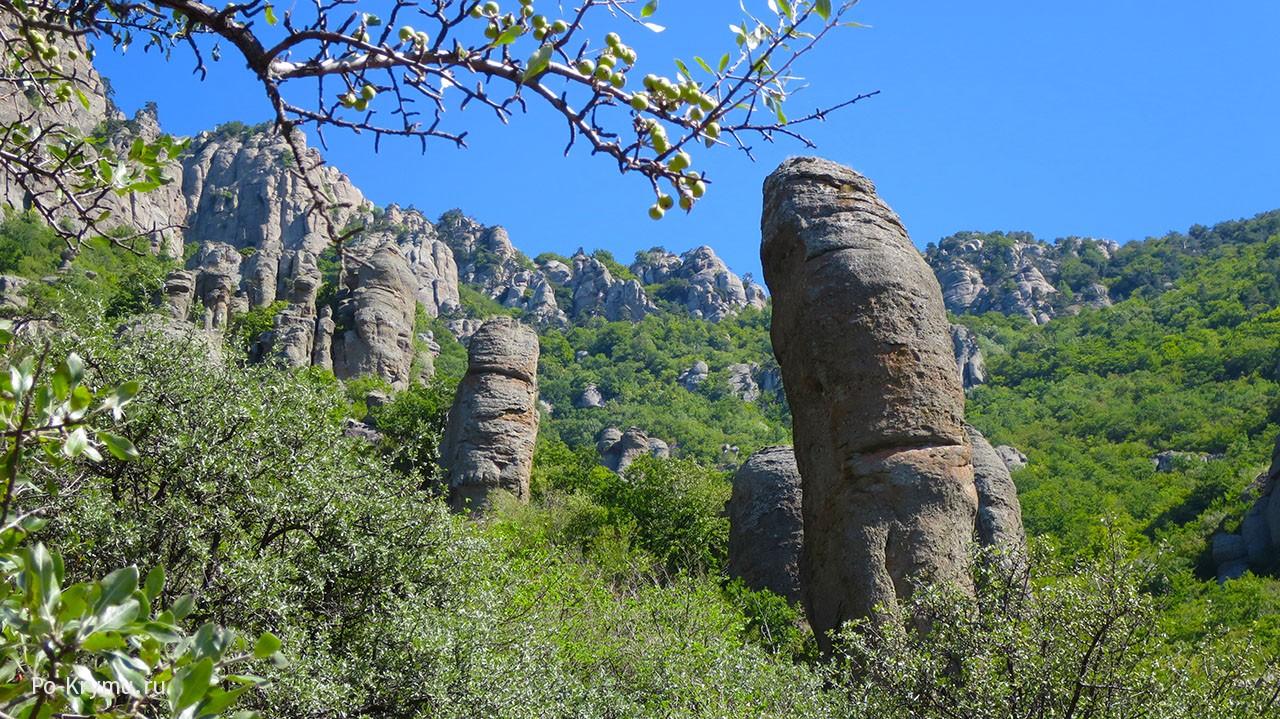 Долина приведений в Крыму.