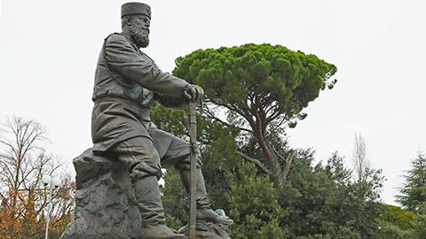 Памятник Александру III в Ливадии