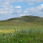 Грязевой вулкан Джау-Тепе в Крыму