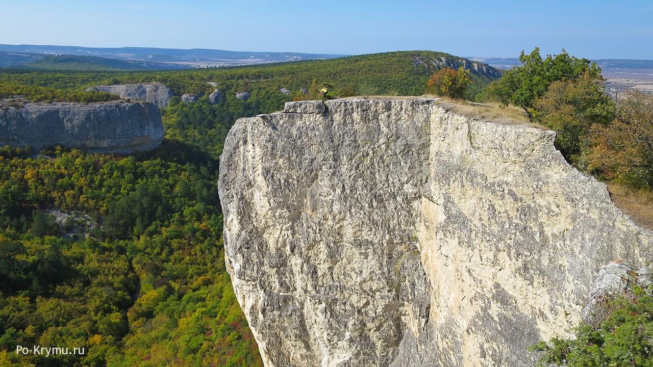 Крымские горы осенней порой