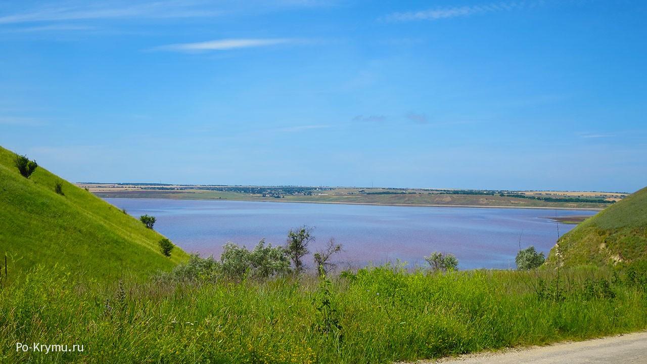 Тобечикское озеро под Керчью.