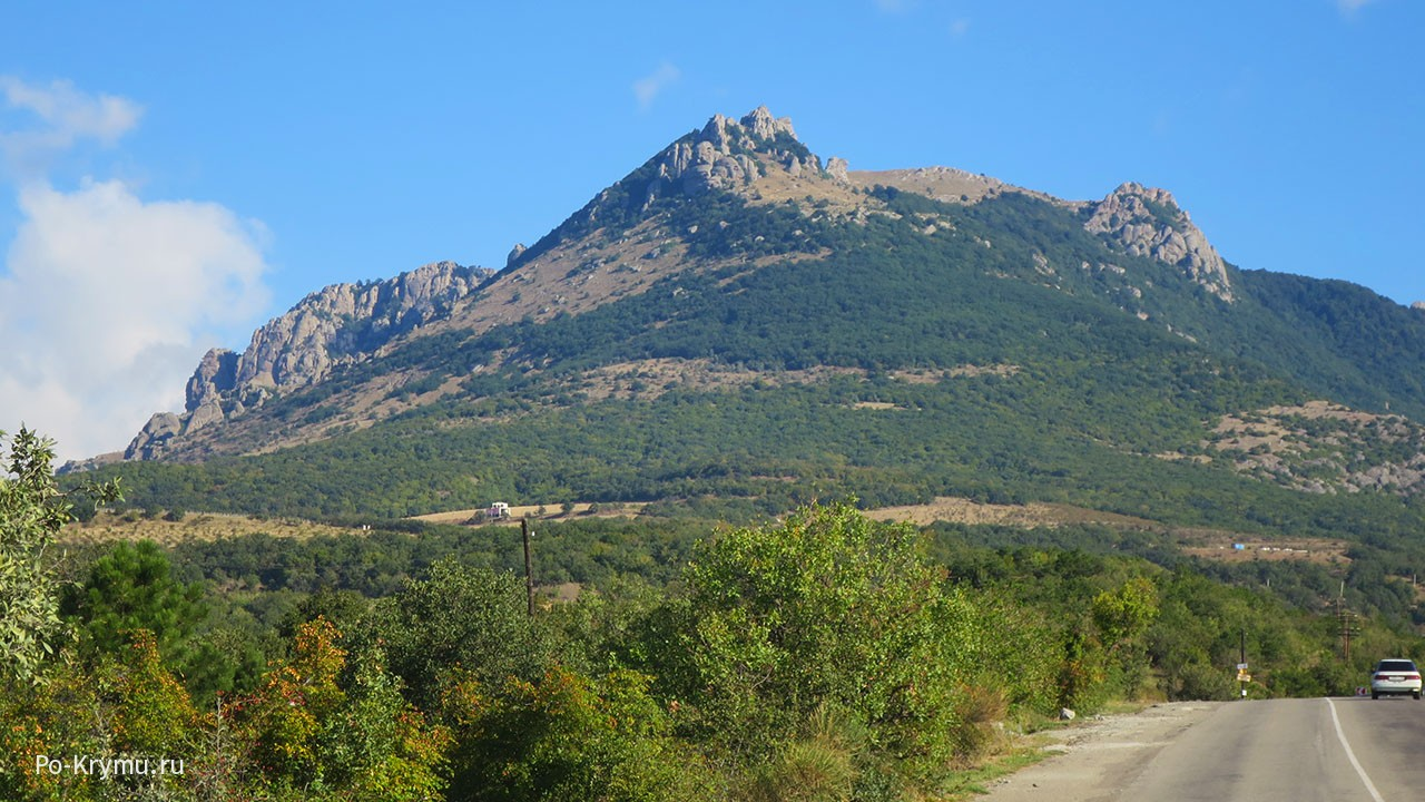Гора Демерджи у Алушты.