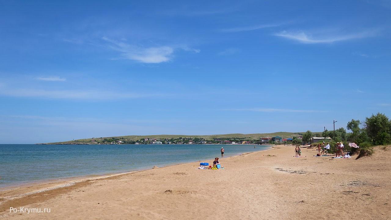 Азовское море летом.