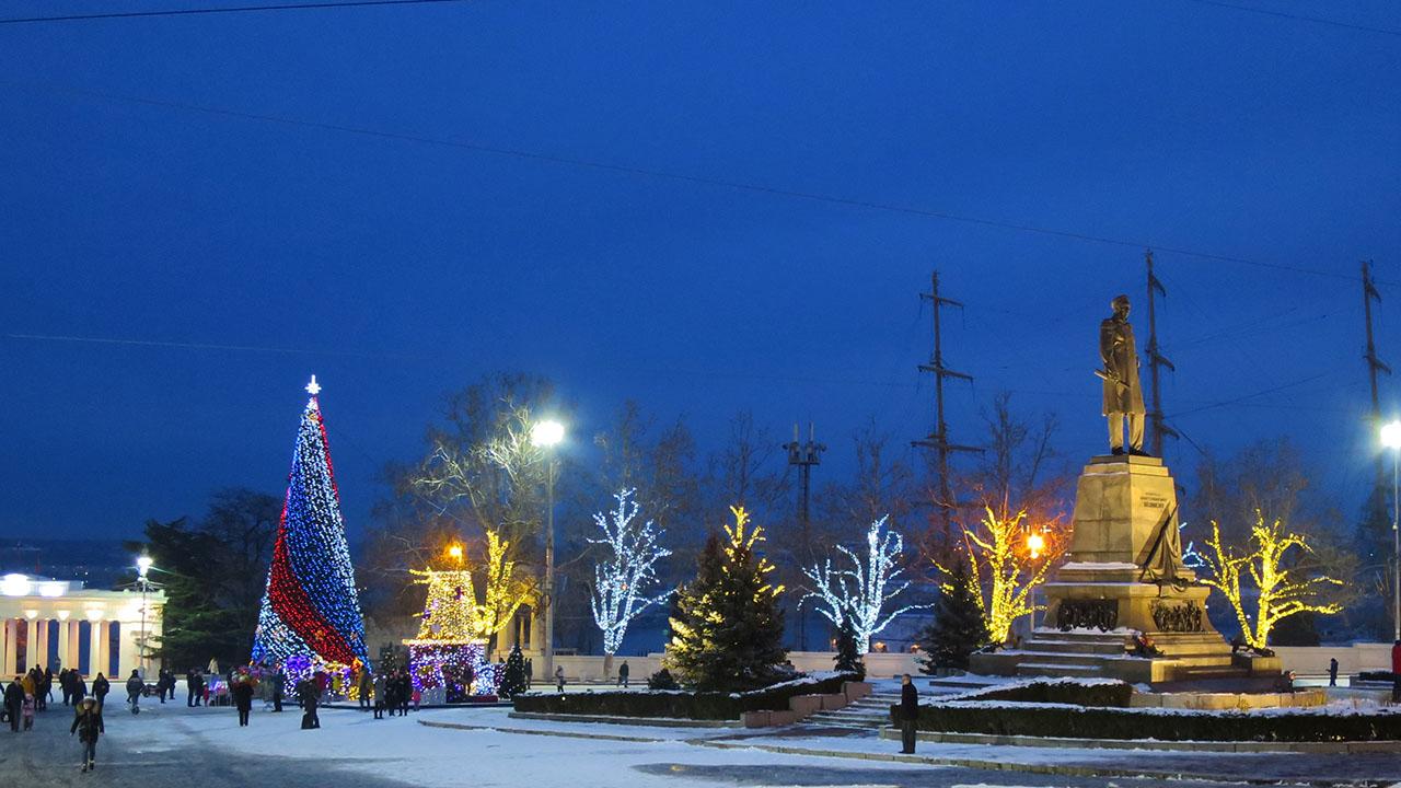 Новогодние праздники на Крымском полуострове