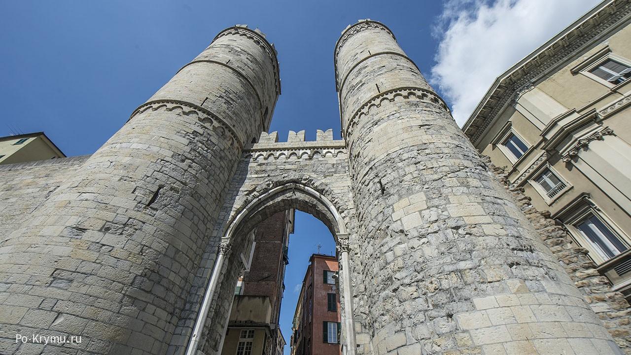 Ворота старой Генуи.