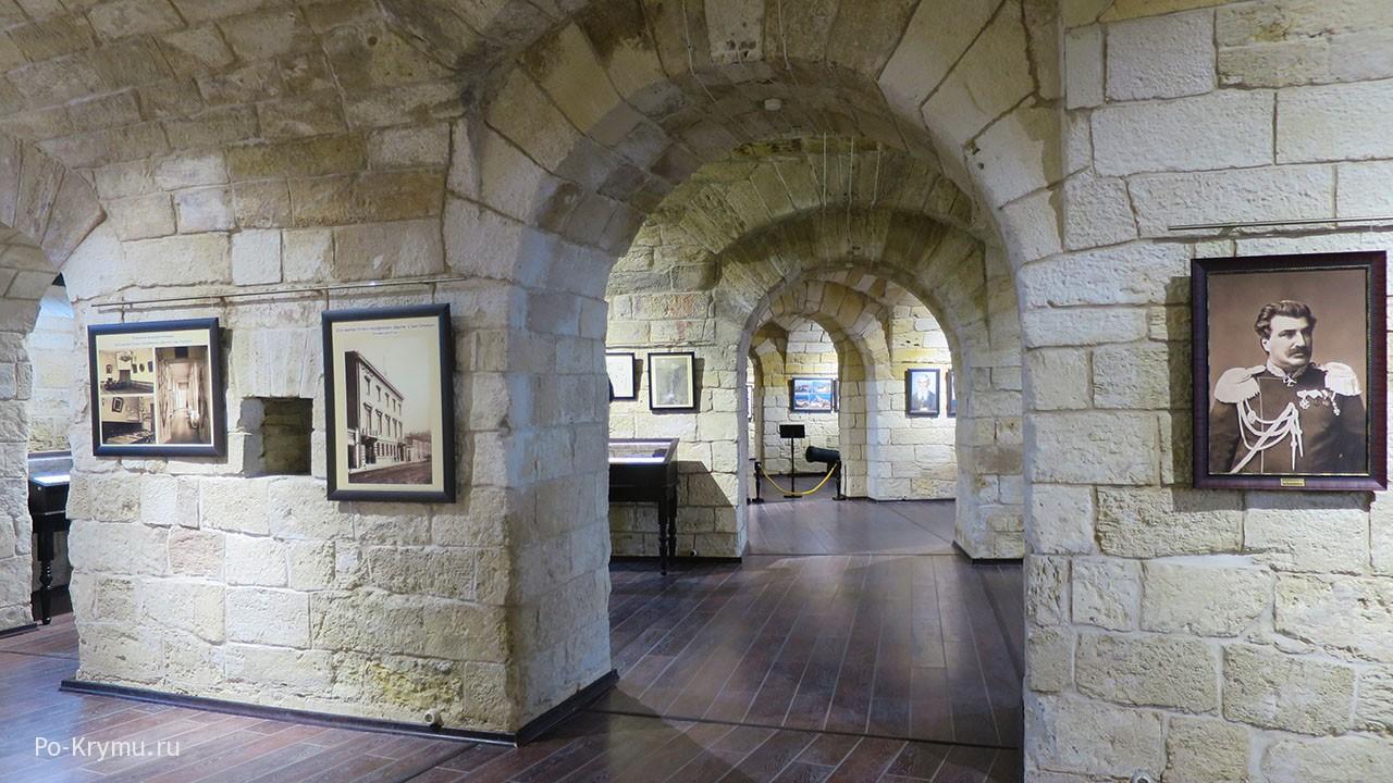 Внутренняя экспозиция музейного комплеса.
