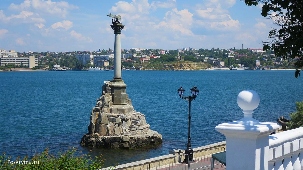Памятник затопленным кораблям, Севастополь.