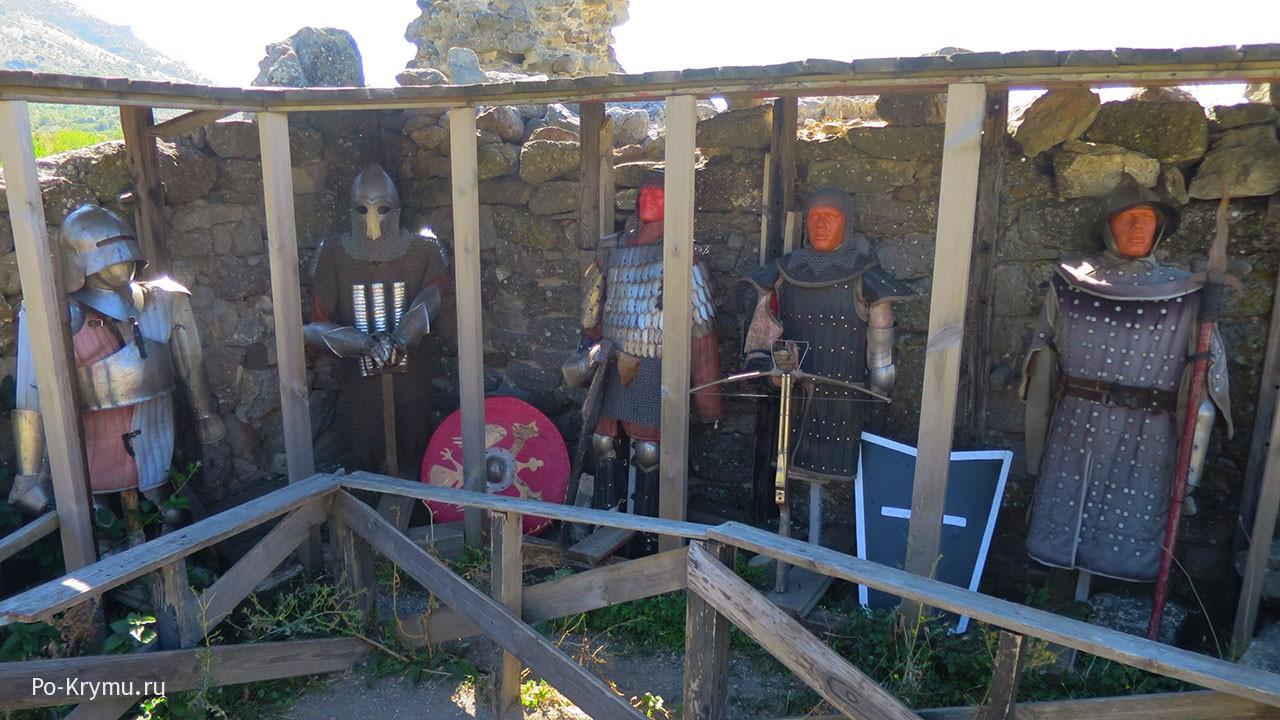 Что носили средневековые рыцари в Крыму.