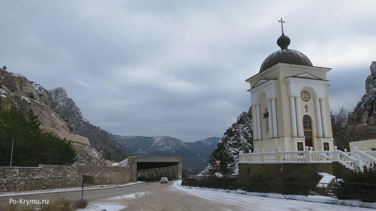 Ласпинский перевал в Крыму.
