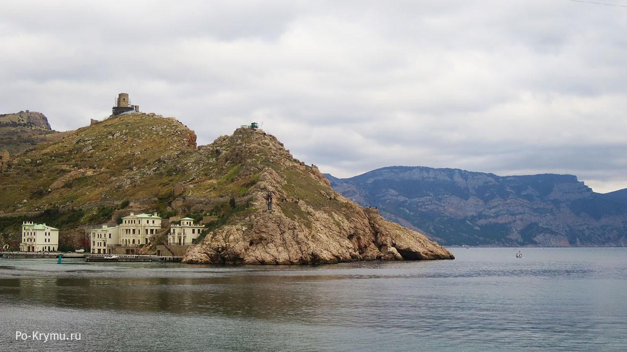 Крепость Чембало в Балаклаве.