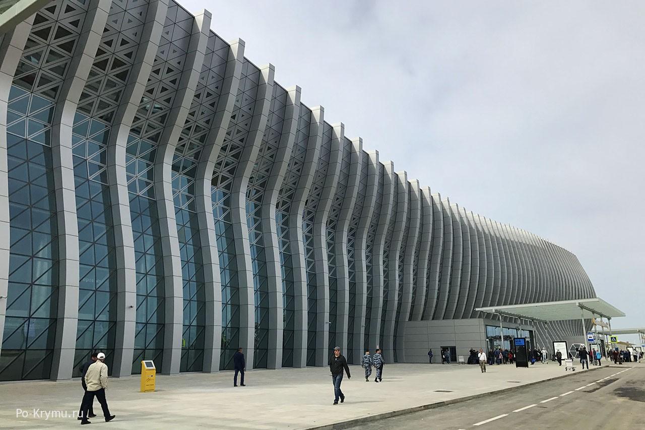 Фото фасада аэровокзала