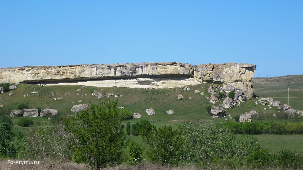 Крепость Ак-Кая в Крыму, Белогорский район.