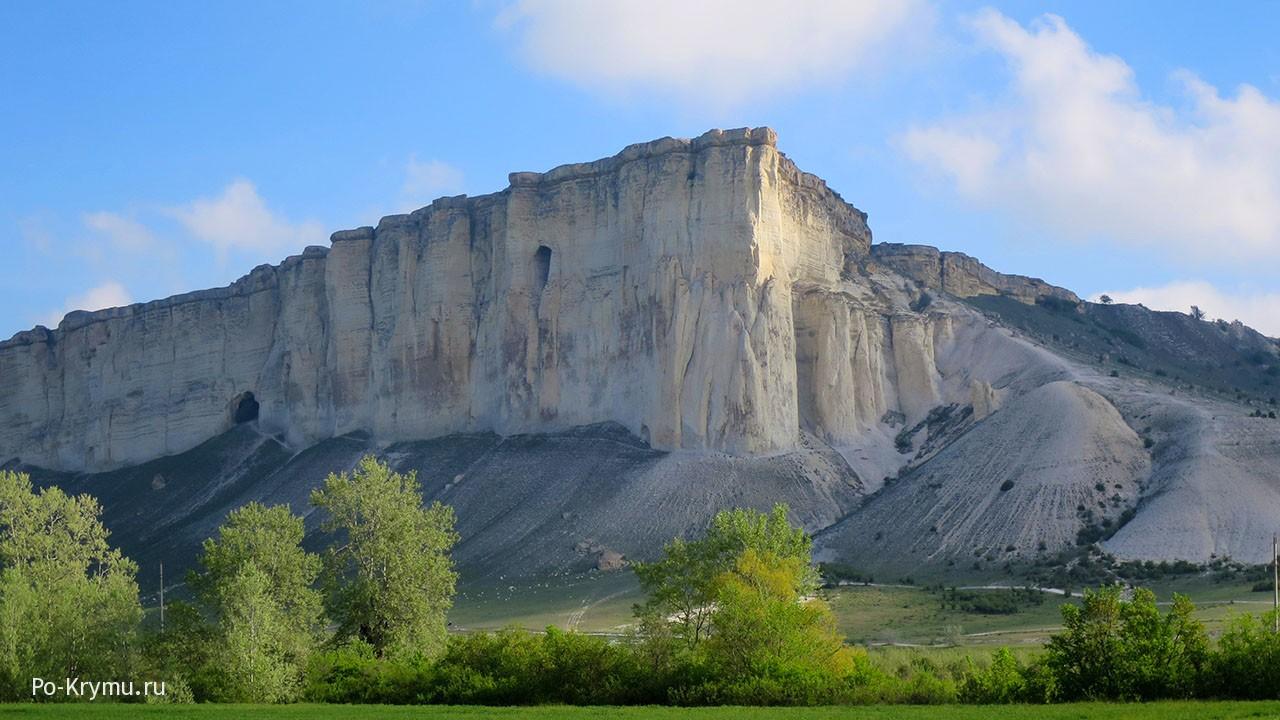 Белая скала под Белогорском, Крым.