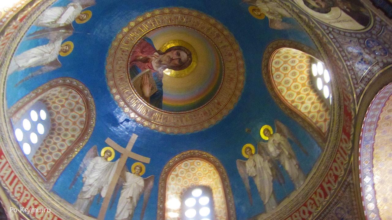 Роспись севастопольского Свято-Никольского храма.