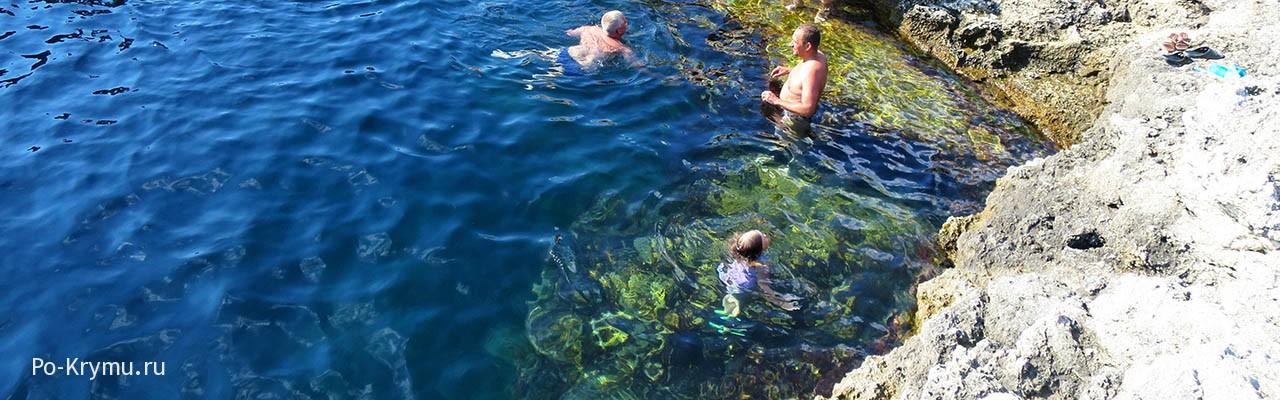 Чистейшее море у обрывов Тарханкута
