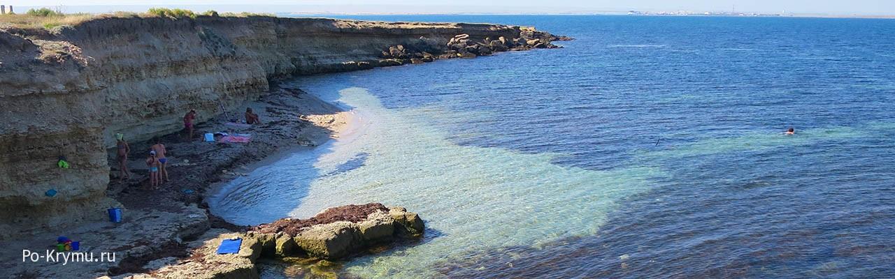 Уютные пляжики Межводного
